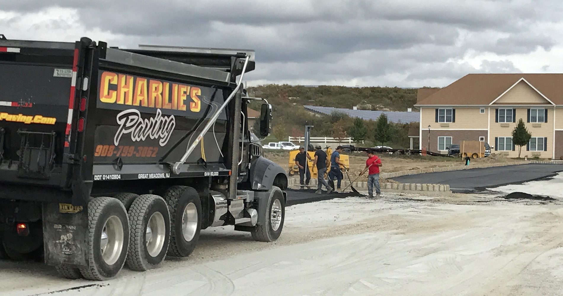 Commercial Paving Sussex County NJ